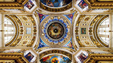 The main cupola of St. Isaac's Cathedral