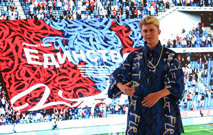 Pokras Lampas merges art and sports at UEFA EURO 2020 exhibition in St. Petersburg