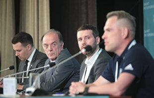 News conference on the development of sports in the region and 2020 EURO Football Championship's legacy