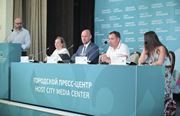 News conference dedicated to International Olympic Day
