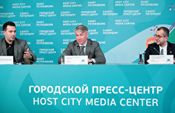 NEWS CONFERENCE ON THE GROUP STAGE RESULTS OF THE 2020 UEFA EUROPEAN FOOTBALL CHAMPIONSHIP IN ST. PETERSBURG