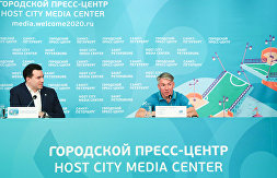 News conference by General Director of the EURO 2020 Local Organizing Committee in St. Petersburg Alexei Sorokin on the results of the European Football Championship games in St. Petersburg