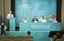 News conference on the 90th anniversary of the Ready for Labor and Defense (GTO) complex