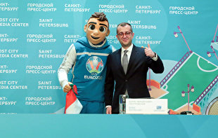 NEWS CONFERENCE WITH ST. PETERSBURG DEPUTY GOVERNOR BORIS PIOTROVSKY FOLLOWING UEFA EURO 2020 IN ST. PETERSBURG