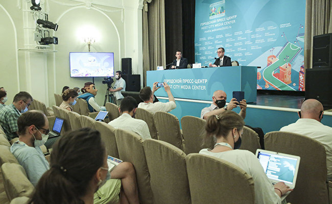 Host City Media Center sums up EURO 2020 in St. Petersburg
