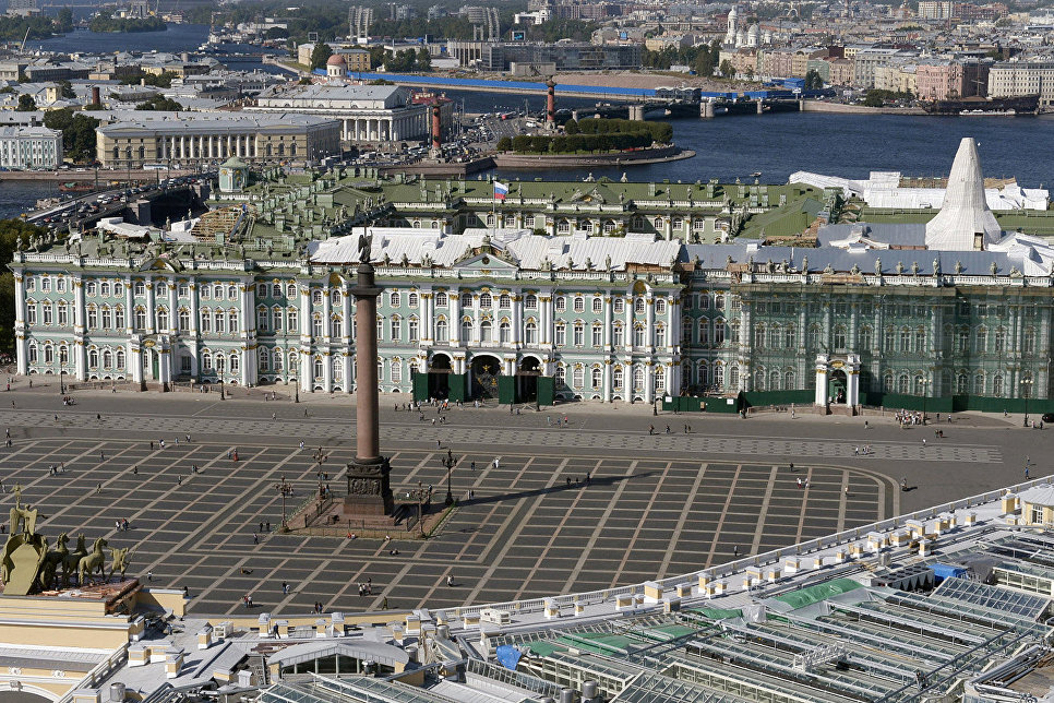 Palace Square and the Hermitage Museum Photo