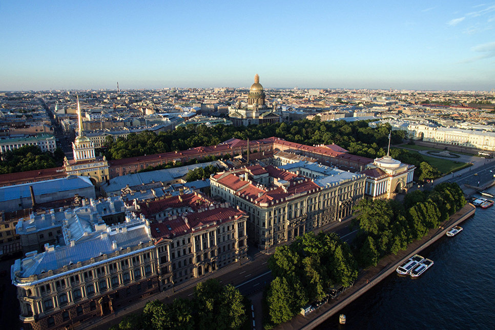 The Admiralty and St. Isaac's Cathedral